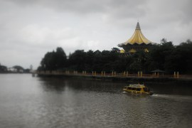 Borneo Kuching waterfront
