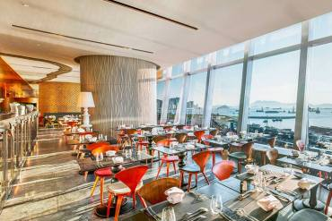 Hong Kong | Luxury Lunch treat at W Hotel's Kitchen Restaurant