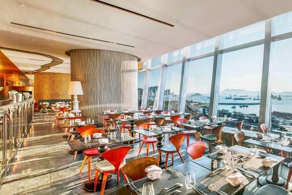 Asia Hong Kong W Hotels Kitchen Restaurant Lunch