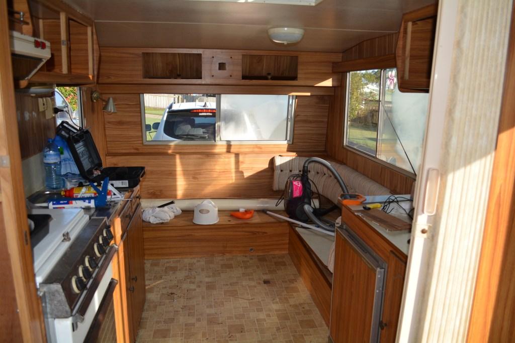 Diy Renovation Of Our 80ties Caravan Before After Photo S