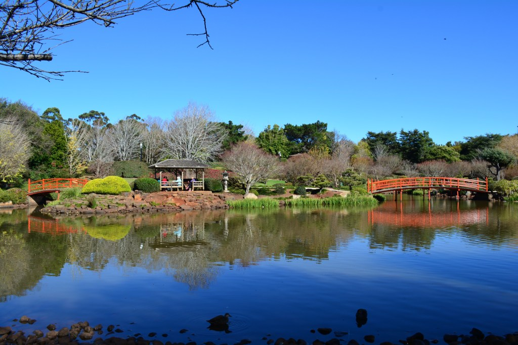 Ju Raku En Japanese Garden Toowoomba Queensland Australia