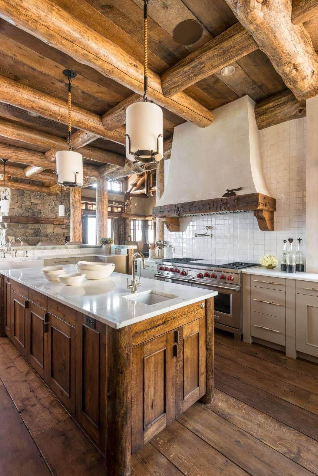 7 Kitchen Ideas | Woodz on Farmhouse:4Leikoxevec= Rustic Kitchen Ideas  id=22394