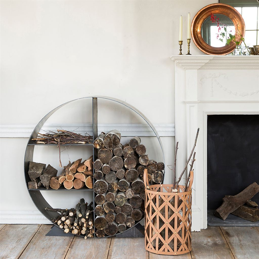 Firewood Holder And Basket Ideas 1