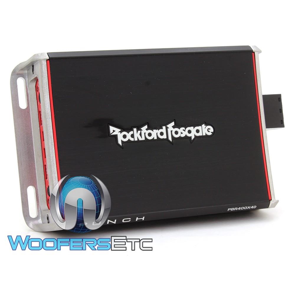 Rockford Fosgate Pbr400x4d 4 Channel 400w Compact Punch