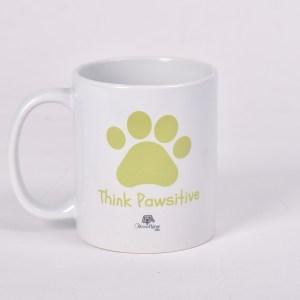 Lemon - Think Pawsitive Mug