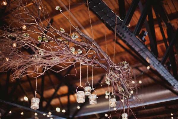 30 Creative Diy Ideas For Rustic Tree Branch Chandeliers