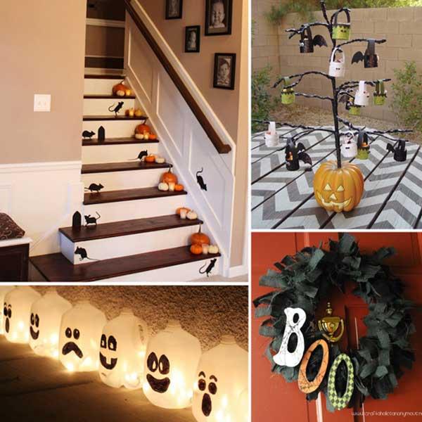 diy creepy halloween decorations