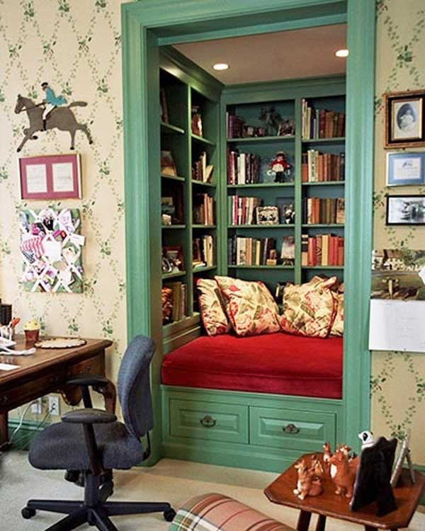 There are many ways to decorate. 28 Things Every Bookworm Should Have in Their Dream Home