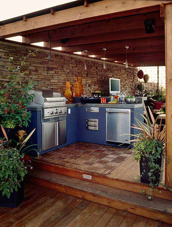 Outdoor Kitchen Ideas Let You Enjoy Your Spare Time ... on Remodel:ll6Wzx8Nqba= Small Kitchen Ideas  id=97114