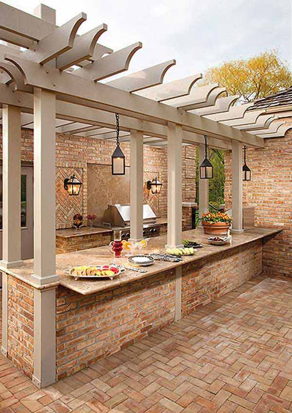 Outdoor Kitchen Ideas Let You Enjoy Your Spare Time ... on Remodel:ll6Wzx8Nqba= Small Kitchen Ideas  id=59655