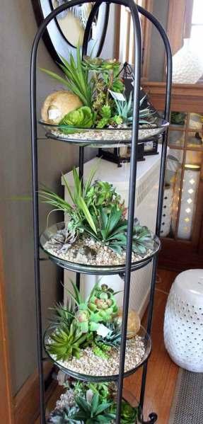 homes with indoor garden design ideas 26 Mini Indoor Garden Ideas to Green Your Home