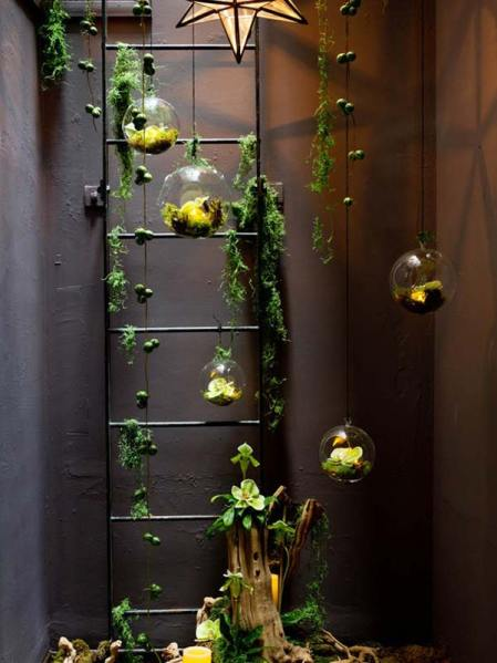 indoor hanging garden ideas 26 Mini Indoor Garden Ideas to Green Your Home