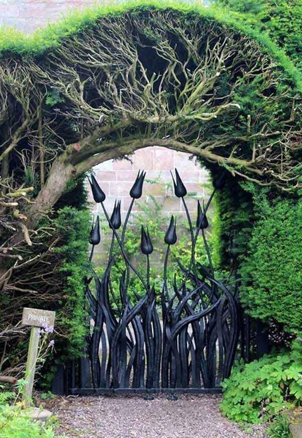 22 Beautiful Garden Gate Ideas To Reflect Style Amazing