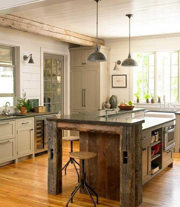 image from http www woohome com wp content uploads 2014 04 rustic homemade kitchen islands 28 on kitchen island id=25798