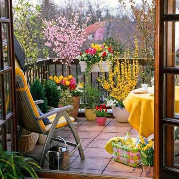 Balcony Garden India Best Balcony Design Ideas Latest