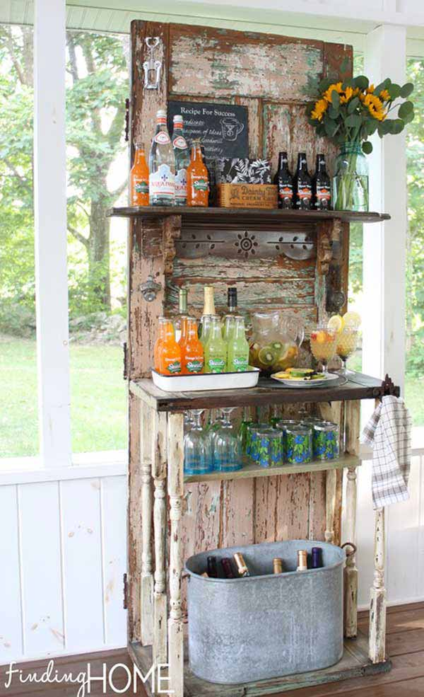 26 Creative and Low-Budget DIY Outdoor Bar Ideas - Amazing ... on Outdoor Bar Patio Ideas  id=35308