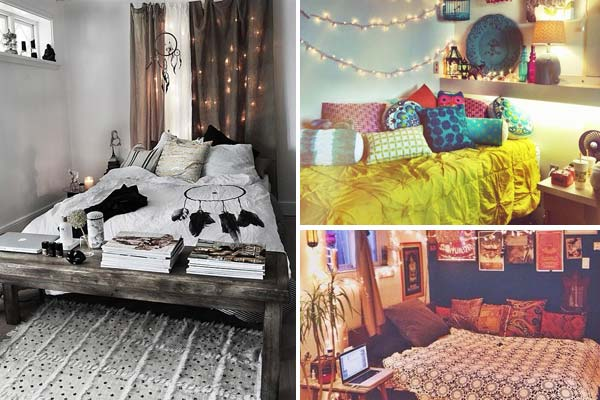 35 Charming Boho Chic Bedroom Decorating Ideas   Amazing DIY     charming boho bedroom ideas 0