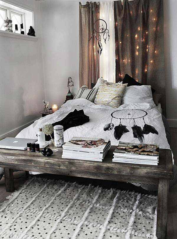 Hippie Room Decor With Simple Accessory Ideas For