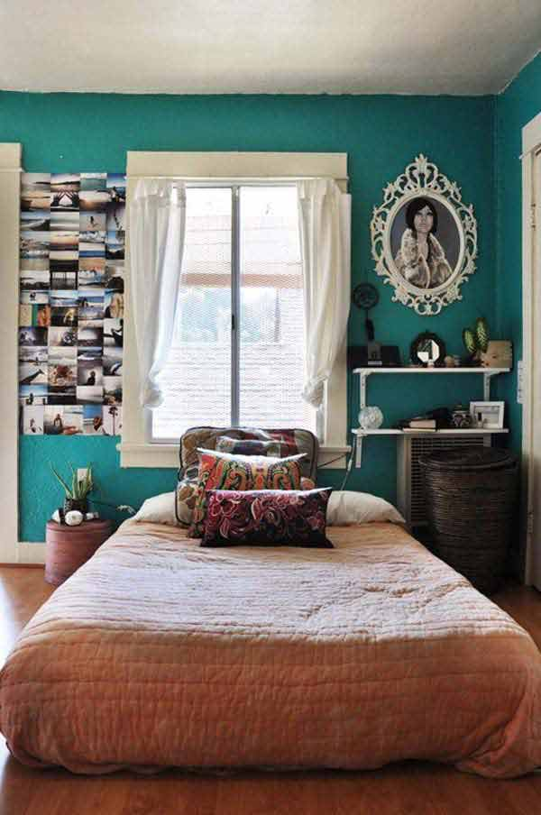 35 Charming Boho-Chic Bedroom Decorating Ideas - Amazing ... on Boho Room Decor  id=24280