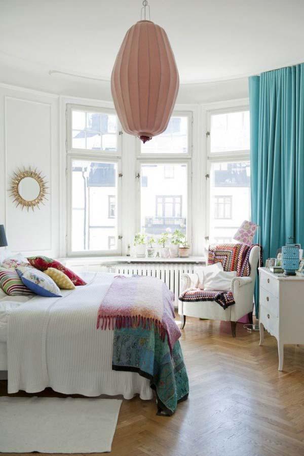 35 Charming Boho-Chic Bedroom Decorating Ideas - Amazing ... on Boho Bedroom Decor  id=70064