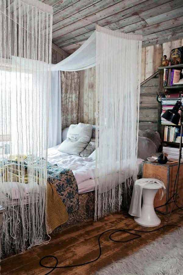35 Charming Boho-Chic Bedroom Decorating Ideas - Amazing ... on Boho Bedroom  id=99197