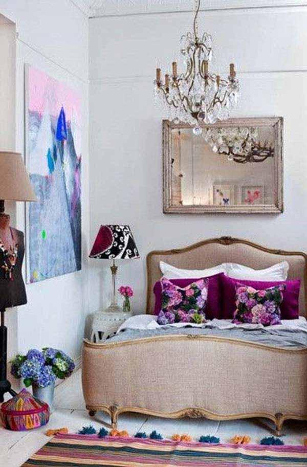 35 Charming Boho-Chic Bedroom Decorating Ideas - Amazing ... on Boho Room Decor  id=12408