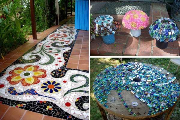 Garden Decoration Mushrooms