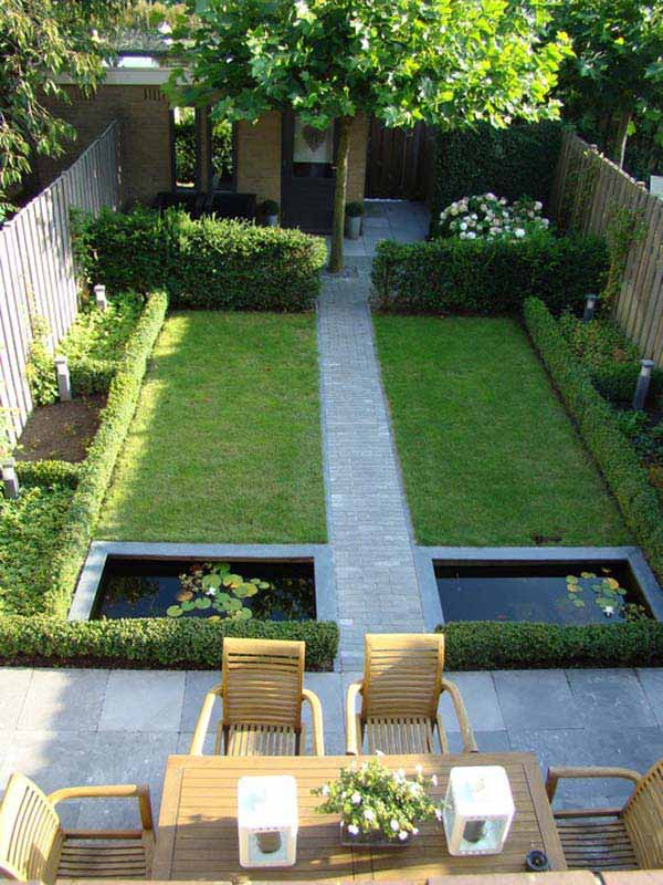 23 Small Backyard Ideas How to Make Them Look Spacious and ... on Backyard Lawn Designs id=41219
