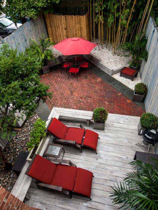 23 Small Backyard Ideas How to Make Them Look Spacious and ... on Small Backyard Ideas id=89192
