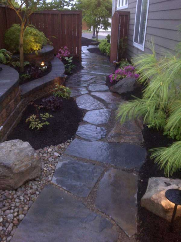 41 Inspiring Ideas For A Charming Garden Path - Amazing ... on Side Yard Walkway Ideas  id=16839