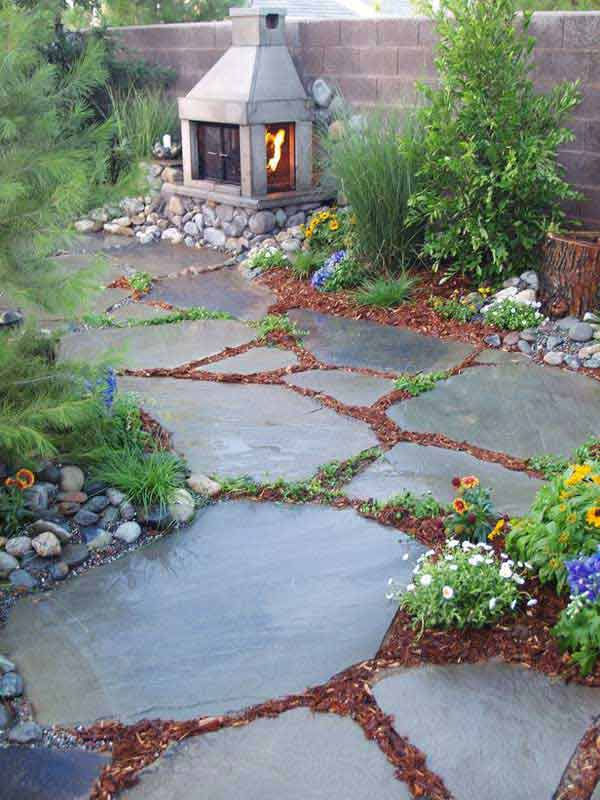 41 Inspiring Ideas For A Charming Garden Path - Amazing ... on Backyard Walkway Ideas id=40293