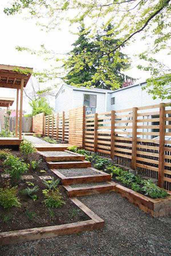 41 Inspiring Ideas For A Charming Garden Path - Amazing ... on Side Yard Walkway Ideas id=54405