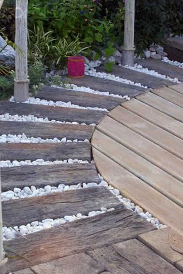 41 Inspiring Ideas For A Charming Garden Path - Amazing ... on Patio And Path Ideas  id=96579