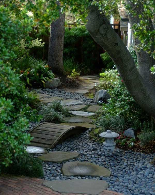41 Inspiring Ideas For A Charming Garden Path - Amazing ... on Backyard Walkway Ideas id=38843