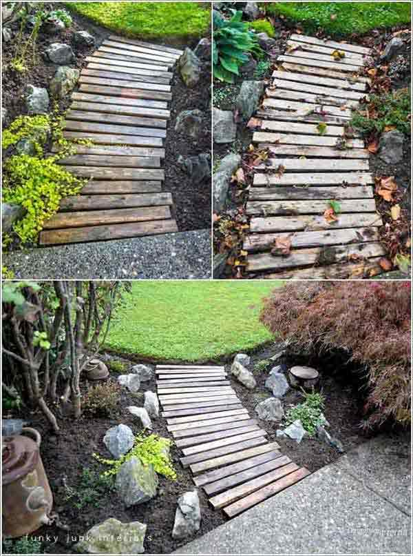 41 Inspiring Ideas For A Charming Garden Path - Amazing ... on Backyard Walkway Ideas id=17813