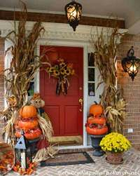 images of halloween front porches