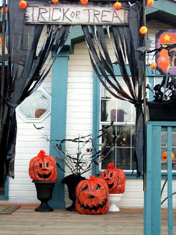 Top 41 Inspiring Halloween Porch Dcor Ideas