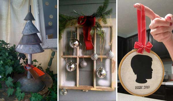 32 Astonishing DIY Vintage Christmas Decor Ideas   Amazing DIY     32 Astonishing DIY Vintage Christmas Decor Ideas
