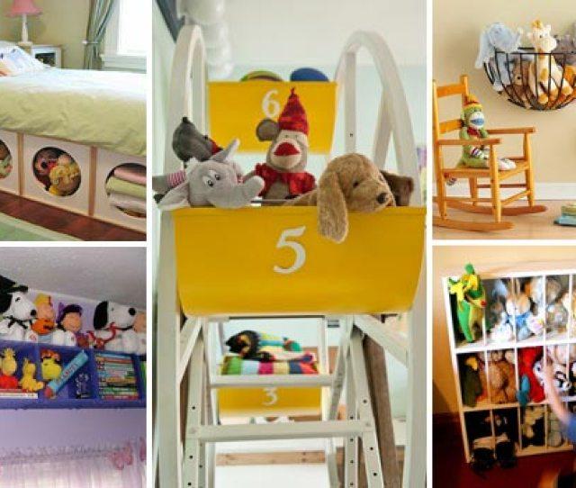 Stuffed Toy Storage Woohome