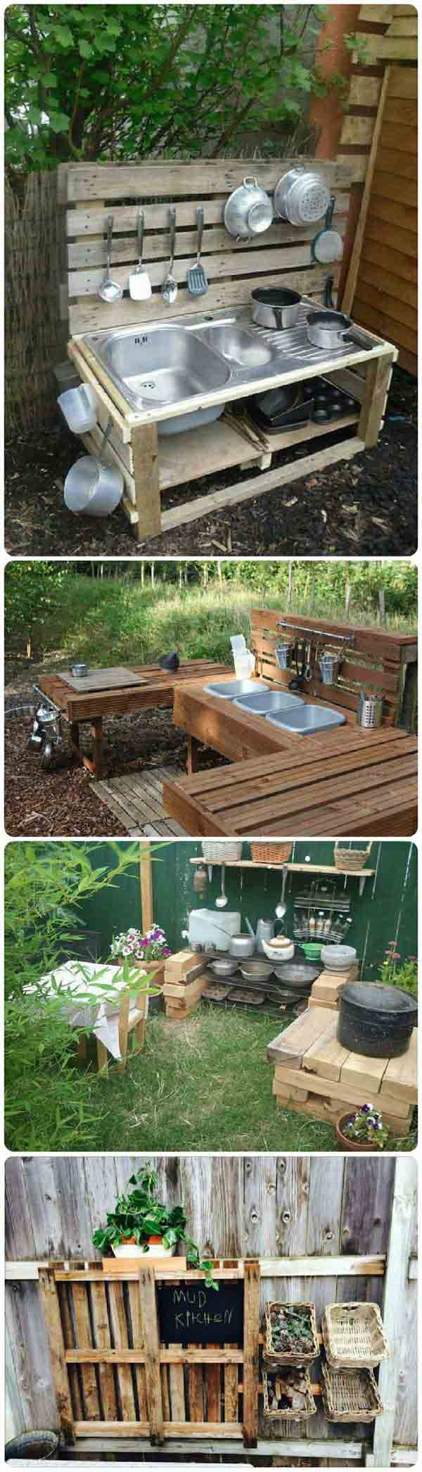 25 Playful DIY Backyard Projects To Surprise Your Kids ... on Diy Backyard Remodel id=24956
