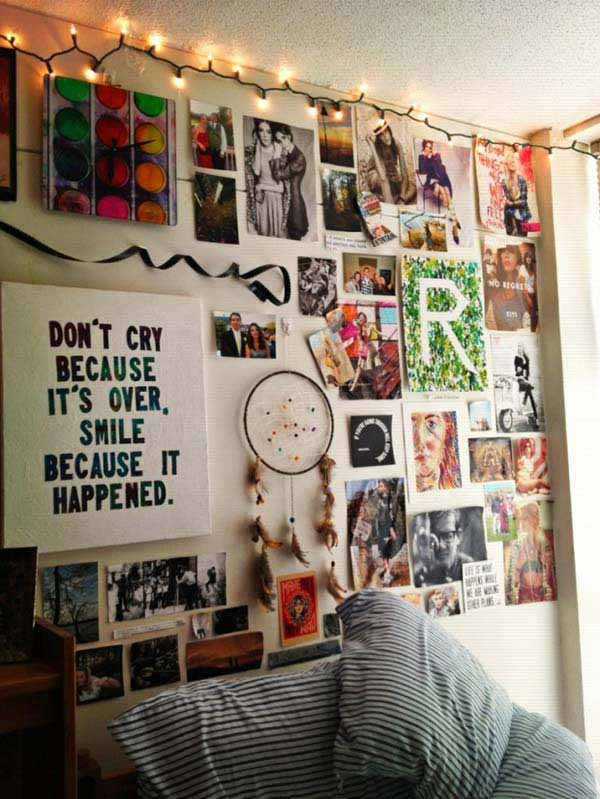 Top 24 Simple Ways to Decorate Your Room with Photos ... on How To Decorate Your Room  id=78490