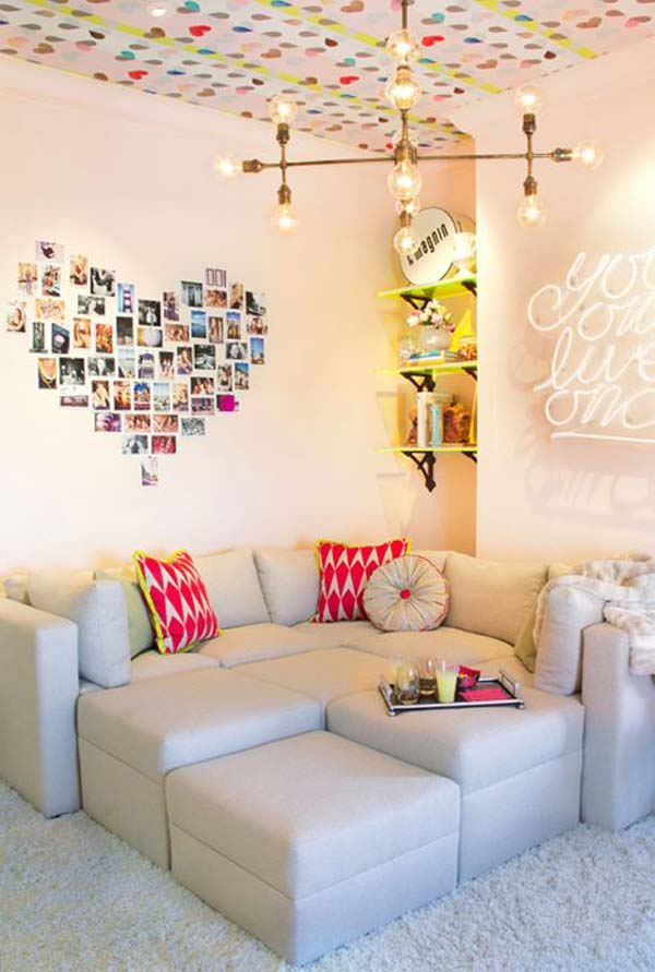 Top 24 Simple Ways to Decorate Your Room with Photos ... on Photo Room Decor  id=84303