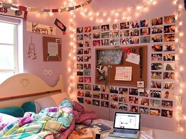 Top 24 Simple Ways to Decorate Your Room with Photos ... on How To Decorate Your Room  id=28908