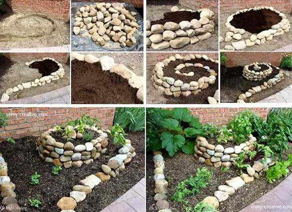 Beautiful Fabric Garden Decor Ideas Diy