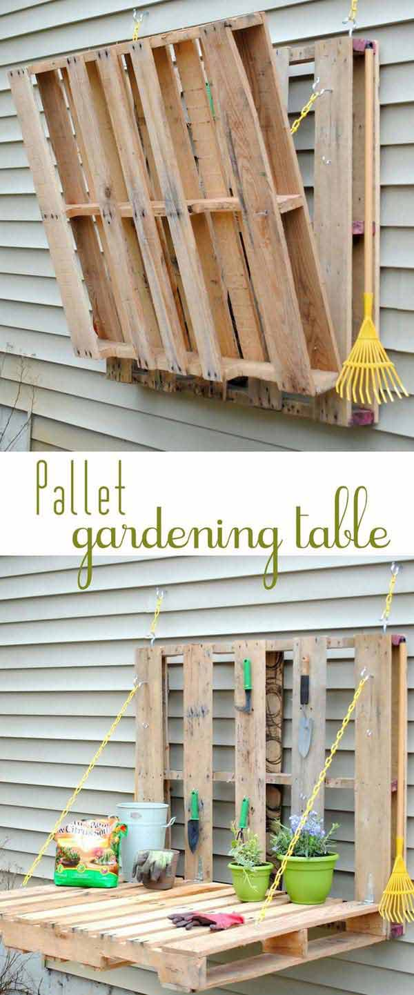 Top 38 Genius DIY Outdoor Pallet Furniture Designs That ... on Diy Backyard Remodel  id=88581