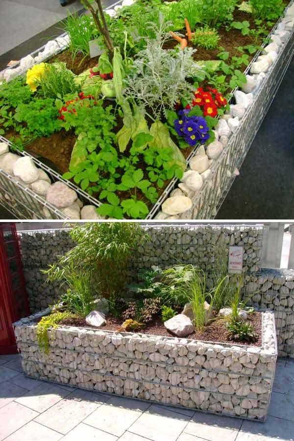 Top 28 Surprisingly Awesome Garden Bed Edging Ideas ... on Backyard Border Ideas id=62020