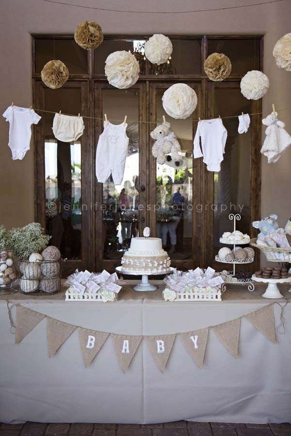 Blue Baby Shower Decoration Ideas For Boys