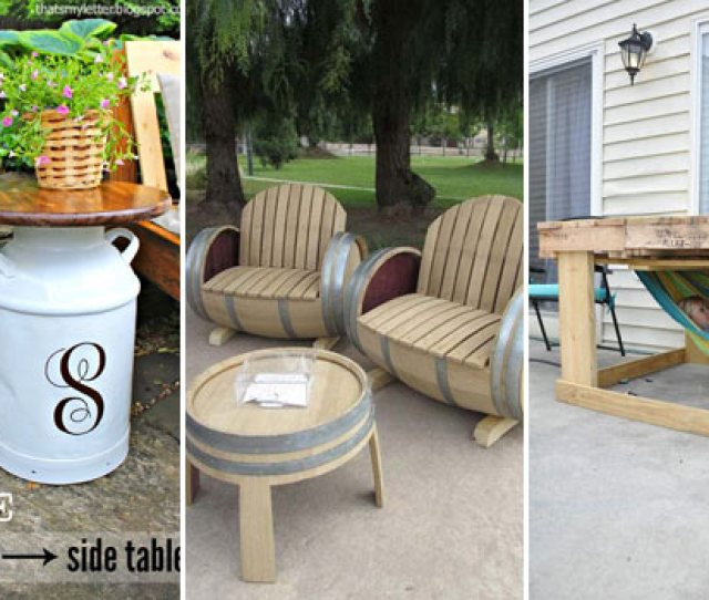 Diy Backyard Furniture Woohome