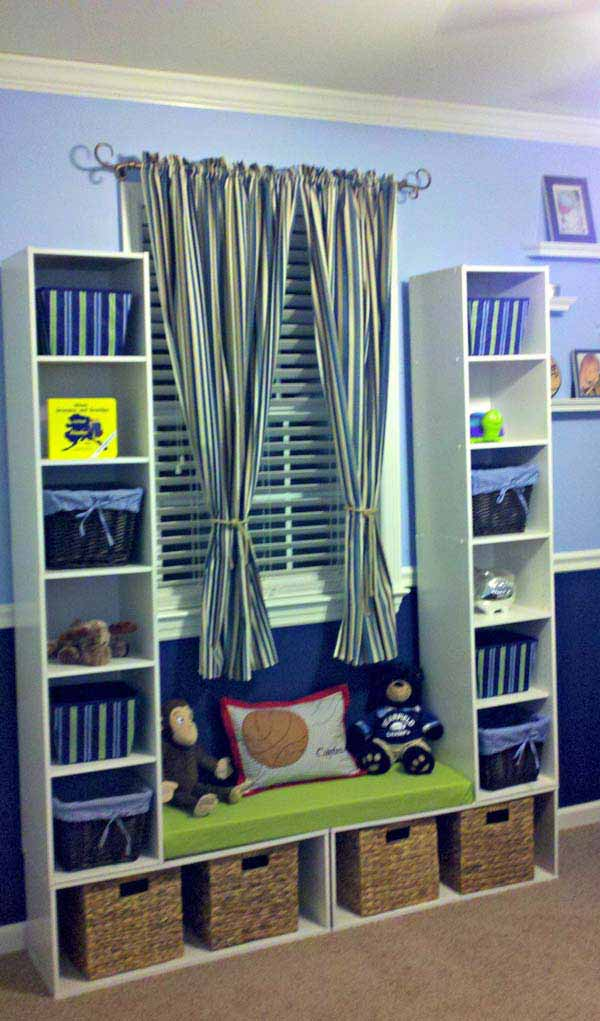 28 Genius Ideas and Hacks to Organize Your Childs Room ... on Cheap Bedroom Ideas For Small Rooms  id=60296
