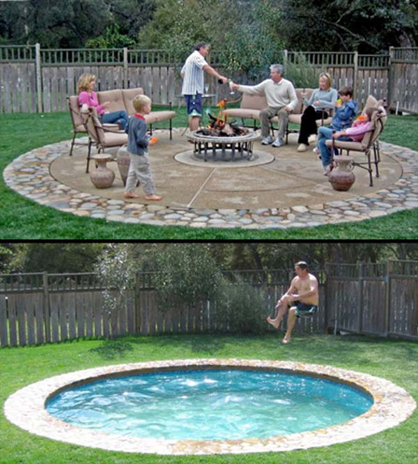 28 Fabulous Small Backyard Designs with Swimming Pool ... on Backyard Design Ideas Diy id=53029